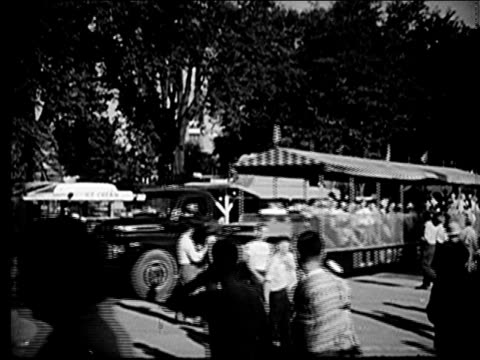 1947 - illinois tourism - agricultural fair stock videos & royalty-free footage
