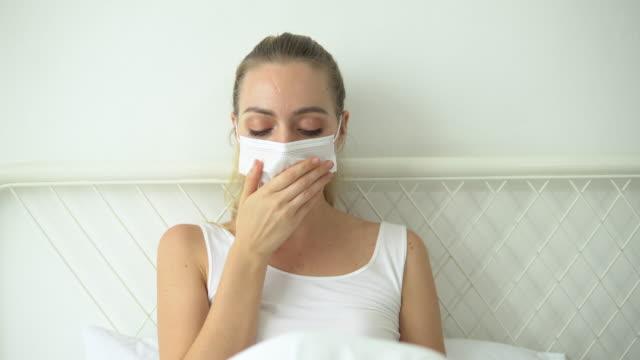 illness bed women - retrovirus stock videos & royalty-free footage
