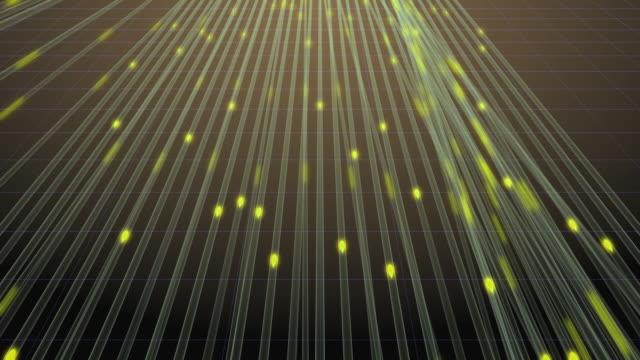 CU CGI ZO Illuminated drops on fiber / Greece