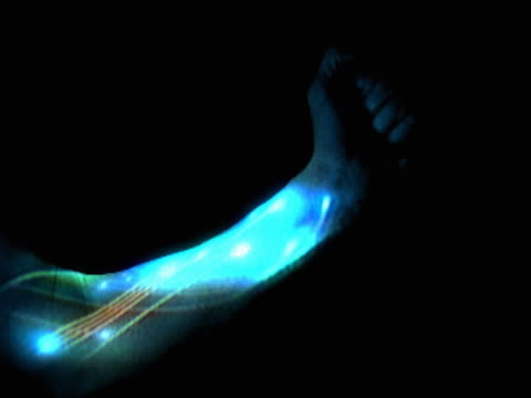illuminated human arm - human arm stock videos & royalty-free footage
