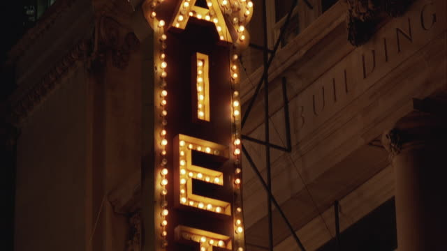 cu la td illuminated nightclub sign - burlesque style stock videos & royalty-free footage