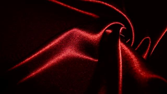 Illuminated red satin
