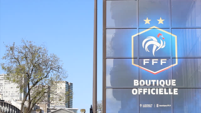 illustration head office of french football federation (fff) - number 2 stock videos & royalty-free footage