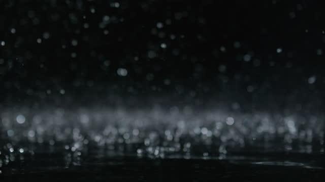 image of dropping water / south korea - 折射 個影片檔及 b 捲影像