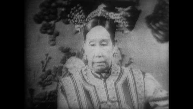 Images from the 1911 Revolution including Sun Yatsen Empress Dowager Cixi the Dowager's marble boat and Lai Mayi