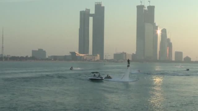 Images of Abu Dhabi the oil rich capital of the United Arab Emirates illustrating tourism culture education political economic and daily life CLEAN...