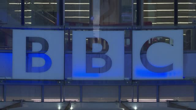images of bbc headquarters in central london as china's broadcasting regulator announces it pulled bbc world news from the air, saying the channel's... - bbc stock videos & royalty-free footage