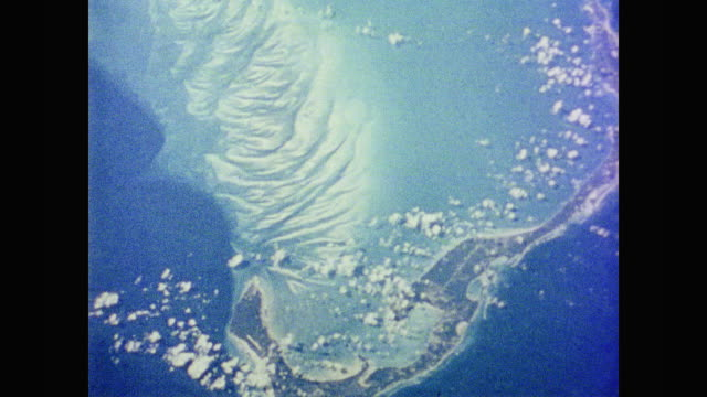 images of earth's topography from space as seen from the space shuttle columbia - anno 1981 video stock e b–roll