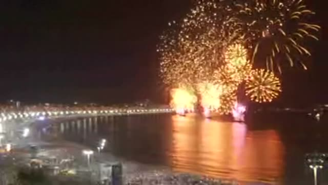 BRA: FILE: Rio's New Year fireworks as celebration cancelled due to virus