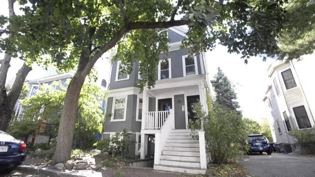 images of the home of louise glück, a professor at yale university, who has been awarded the 2020 nobel prize in literature - nobel prize in literature stock videos & royalty-free footage
