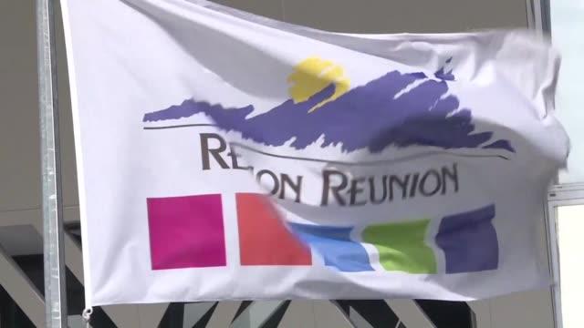 stockvideo's en b-roll-footage met images of the main official buildings in reunion island - franse overzeese gebieden