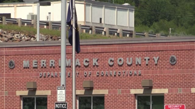 images of the merrimack county department of corrections in boscawen new hampshire where alleged jeffrey epstein's accomplice ghislaine maxwell is... - ghislaine maxwell stock videos & royalty-free footage