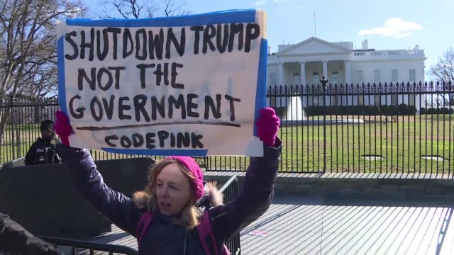 images of the us government shutdown as it breaks the record for the longest lapse in federal funding at 22 days - government shutdown stock videos & royalty-free footage