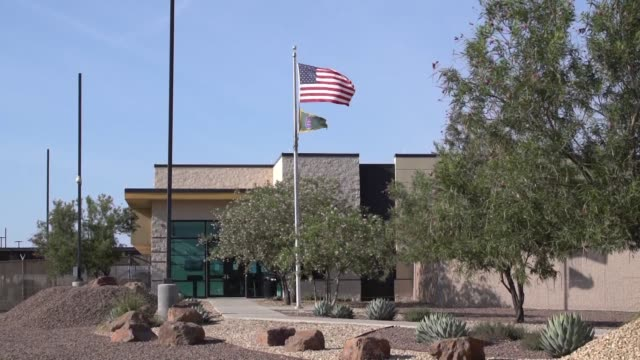 images show border patrol facility in clint texas where a team of lawyers doctors and others have visited and reported overcrowding and unsanitary... - emigration and immigration stock videos & royalty-free footage