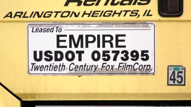Images show the set of the TV show Empire which has dropped actor Jussie Smollett from the final two episodes of its current season after he was...