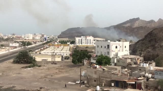 images showing aden's residents daily life in war torn yemen - yemen stock videos & royalty-free footage