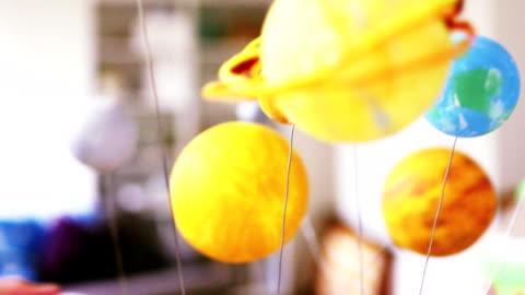 imaginative little girl - plant stem stock videos & royalty-free footage