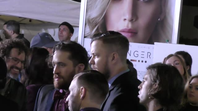 imagine dragons outside the passengers premiere at regency village theatre in westwood in celebrity sightings in los angeles - regency village theater stock videos and b-roll footage