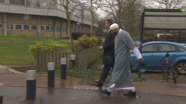 Imam Mohammed Mahmoud arriving at court for the trial of Finsbury Park Mosque attacker Darren Osborne