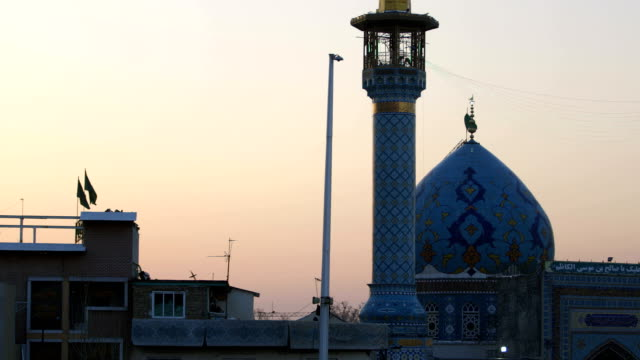 imamzadeh saleh, a mosque in tehran - shi'ite islam stock videos & royalty-free footage