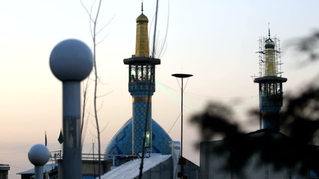 imamzadeh saleh, a mosque in tehran - iran stock videos and b-roll footage