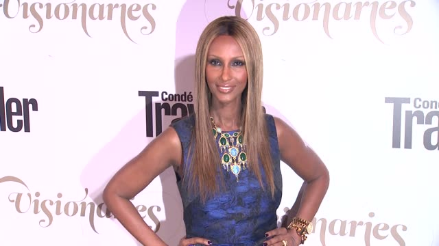 Iman at Conde Nast Traveler Celebrates 'The Visionaries' And 25 Years Of Truth In Travel in New York 09/18/12