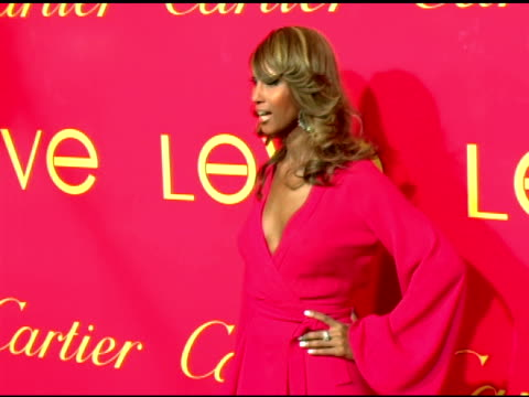 Iman at the Cartier and Interview Magazine Celebration of Love at the Cartier Mansion in New York New York on June 8 2006
