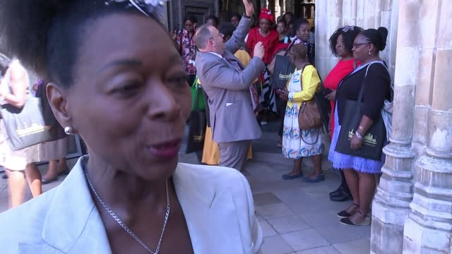 70th anniversary of the arrival of the windrush generation uk london 70th anniversary of windrush generation immigrants mhs workers travel by ferry... - floella benjamin stock videos & royalty-free footage