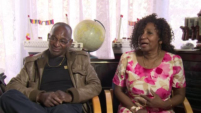 70th anniversary of the arrival of the windrush generation uk birmingham handsworth west indian migrant community experience england west midlands... - handsworth stock-videos und b-roll-filmmaterial