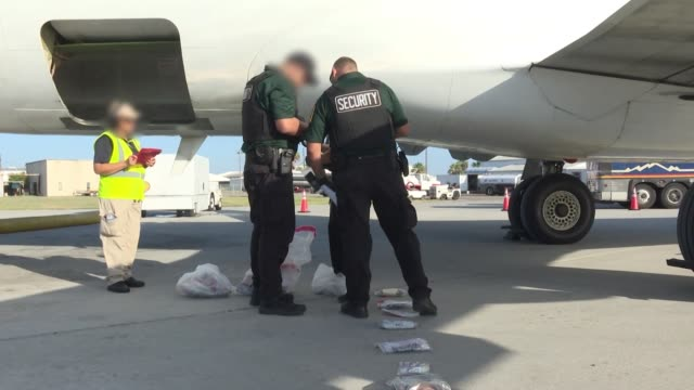 immigration and customs enforcement and enforcement and removal operations conducted a family unit repatriation flight to guatemala on tuesday,... - アメリカ移民税関捜査局点の映像素材/bロール