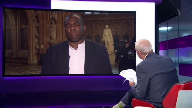 Government taking 'urgent action' to help Windrush generation ENGLAND London GIR INT David Lammy MP 2 WAY interview from House of Commons lobby SOT
