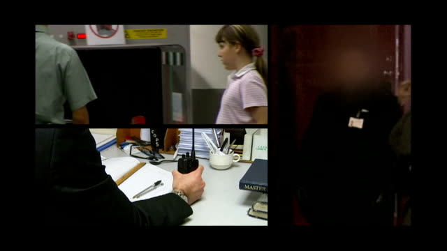 home office admits illegal immigrants have been cleared for jobs as security staff england security staff at work - security screen stock videos & royalty-free footage