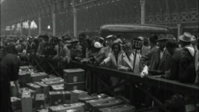 GBR: UK Black History Month: 22nd June 1948: Windrush Day - Video