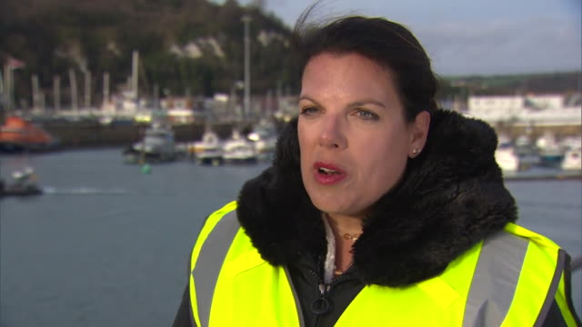 stockvideo's en b-roll-footage met immigration minister caroline nokes talks about working with the french to prevent migrants crossing the channel - parlementslid