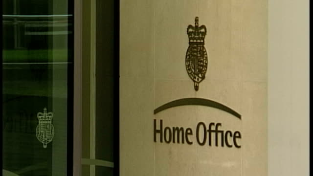 immigration minister mark harper resigns ext general view of the home office - government minister stock videos & royalty-free footage