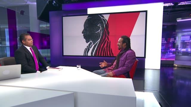 Windrush scandal Benjamin Zephaniah interview Benjamin Zephaniah STUDIO interview SOT