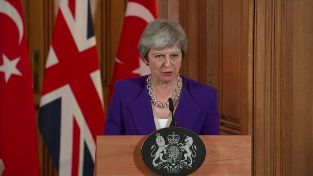 windrush scandal sajid javid reveals that up to 63 people may have been deported england london downing street int theresa may mp press conference... - downing street stock videos and b-roll footage