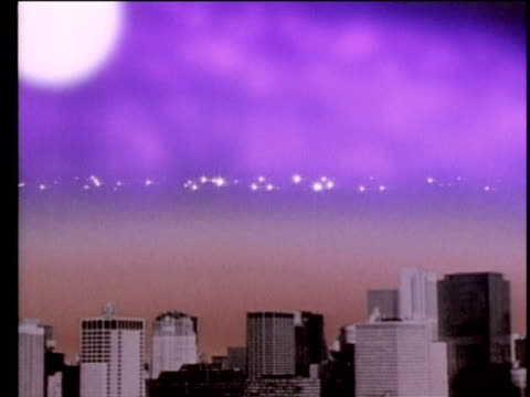 1990 animation impact of cfcs (chlorofluorocarbons) on ozone layer of atmosphere, usa, audio - 1990 stock videos & royalty-free footage