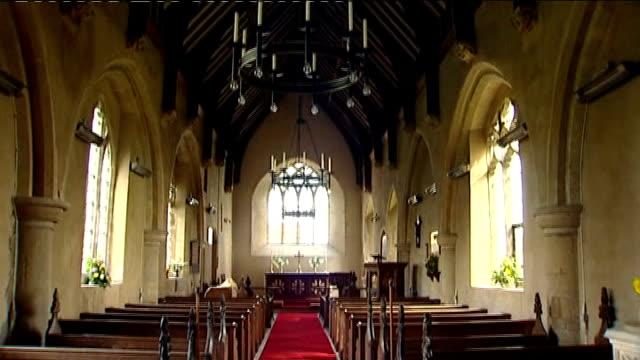 impact of vat changes for listed buildings on churches norfolk sharrington all saints church ceiling of church tilt down pews and altar wesminster... - abbey stock videos & royalty-free footage