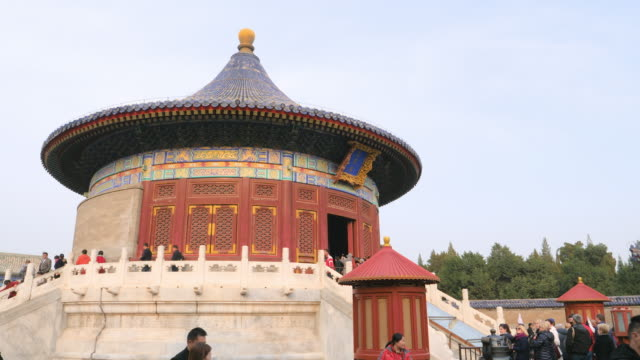 ws imperial vault of heaven, temple of heaven, unesco world heritage site, beijing, china - temple of heaven stock videos & royalty-free footage