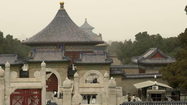 imperial vault of heaven - temple of heaven - temple of heaven stock videos & royalty-free footage