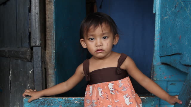 HD impoverished child in the Philippines
