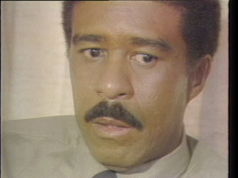 """in a 1981 interview, richard pryor says: """"my work in the past, although i've enjoyed it a lot - 'which way is up?' particularly - and my concert... - richard pryor comedian stock videos & royalty-free footage"""