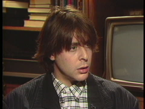 "in a 1985 interview, actor judd nelson says of director john hughes: ""and hughes just allows himself to remember and to think and to feel about those... - judd nelson stock videos & royalty-free footage"