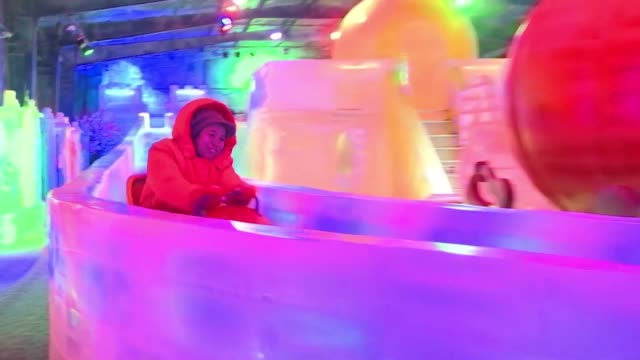 in a country famous for its sandy beaches and tropical temperatures sweat drenched bangkok residents are flocking to snow and ice parks to swap the... - drenched stock videos & royalty-free footage
