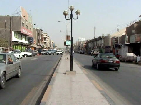 in a move that rolls back iraq's long tradition of tolerating alcohol, basra has issued a complete ban on its sale, public consumption and... - basra video stock e b–roll