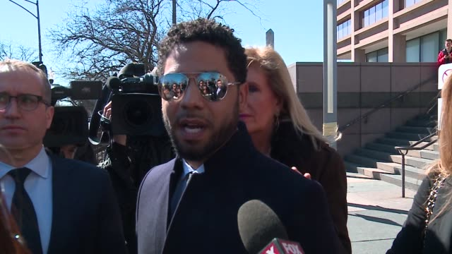 wgn in a stunning reversal prosecutors dropped all charges against actor jussie smollett on march 26 2019 he had been charged with 16 counts of... - community outreach stock videos & royalty-free footage