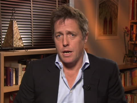 in an interview actor hugh grant speaks up about phone hacking and rupert murdoch. he is baffled that such people would hack the phone of... - crime or recreational drug or prison or legal trial stock videos & royalty-free footage