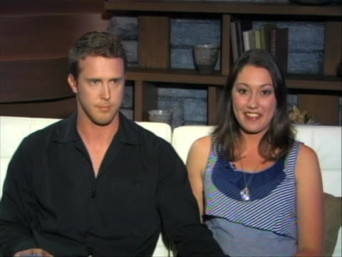 in an interview couple scott jones and alex thomas talk about their photograph that was taken on june 15th, 2011 after the stanley cup finals in... - healthcare and medicine or illness or food and drink or fitness or exercise or wellbeing stock videos & royalty-free footage