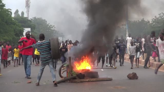 in bamako mali wives and relatives of soldiers killed in jihadist attacks take to the streets to vent their anger and grief - jihad stock videos & royalty-free footage